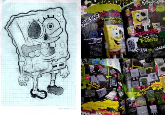 Spongebob Toys by Secret Base