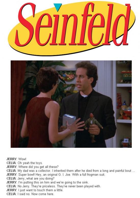 Seinfeld vs. Frogman