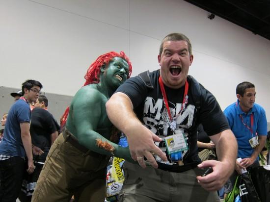 Spankystokes at Comic-Con 2010