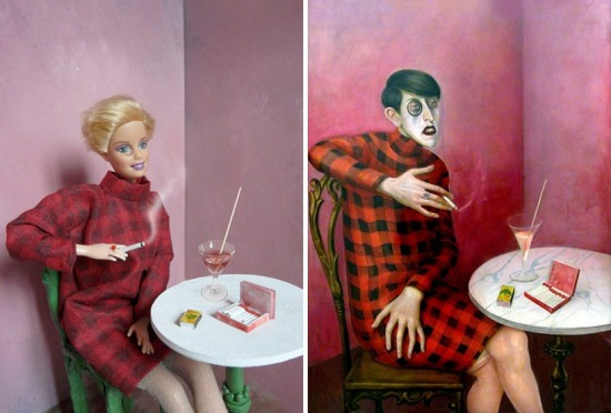 Barbie Art: Barbie does Otto Dix