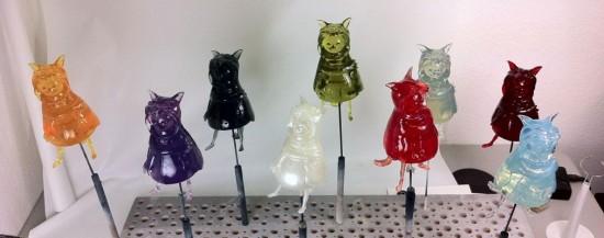 Tinted Resin Wolfgirls by FrankenFactory