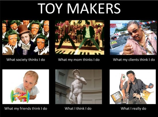 What toy makers do