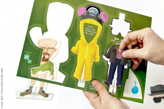 Breaking Bad paper dolls by Andrs Martnez Ricci