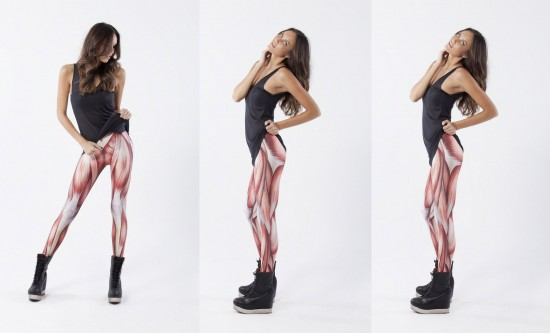 Muscle Leggings by Black Milk