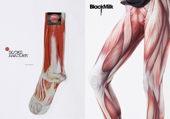 Visceral socks and leggings