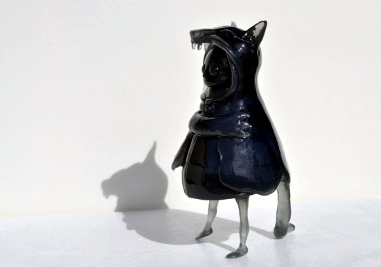 Wolfgirl 2.0 collectible toys by FrankenFactory