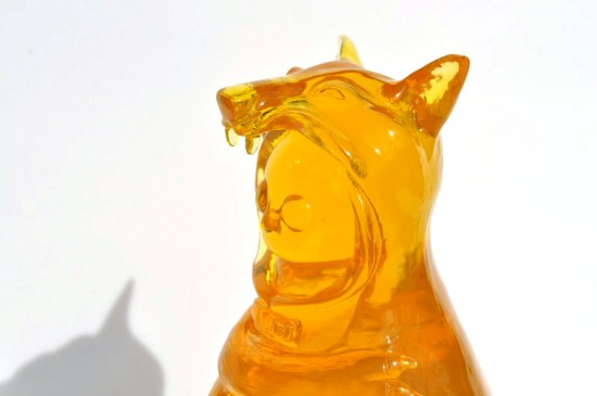 Wolfgirl 2.0 resin toys by FrankenFactory