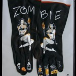 Zombie Dirty Dish Gloves