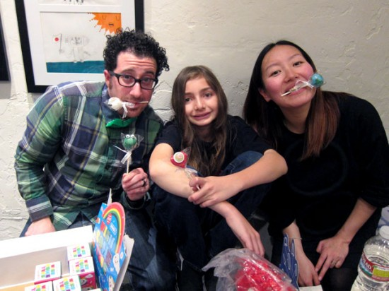 EARTH MOVEMENT kids art show brought to you by Jeremy, Super Cooper and Keiko