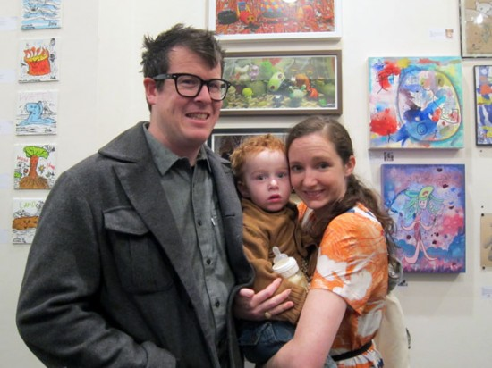 "Ferris Plock, Brixton and Kelly Tunstall, near Kelly & Brixton's collaboration, ""Branch"""