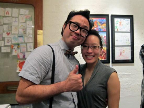 Jerome Lu and Daisy get a cute couple award...
