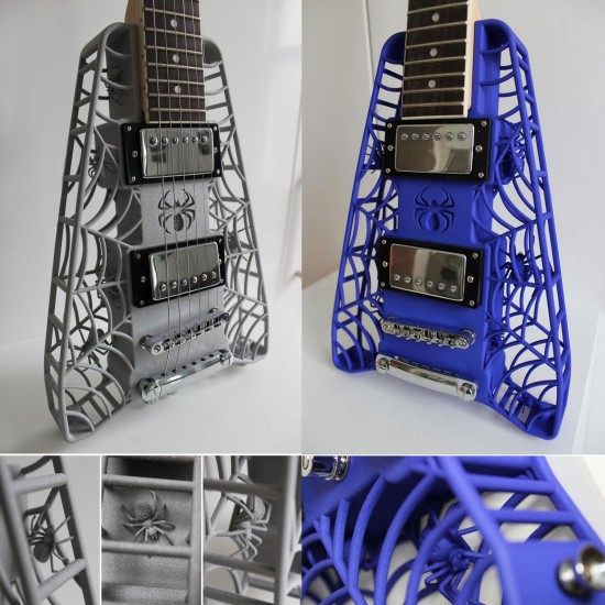 3D-printed guitars by ODD