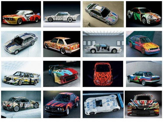 BMW art cars collection