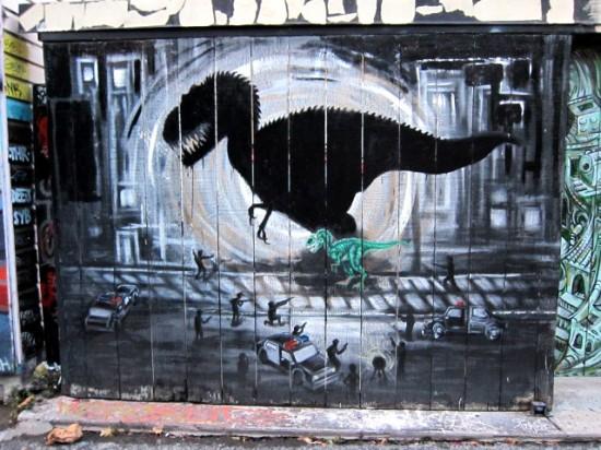 Clarion Alley, San Francisco 2010