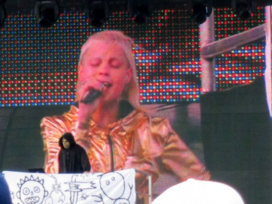 Die Antwoord at the Treasure Island Music Festival