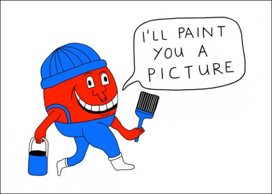 Ian Stevenson's Mr. Paint
