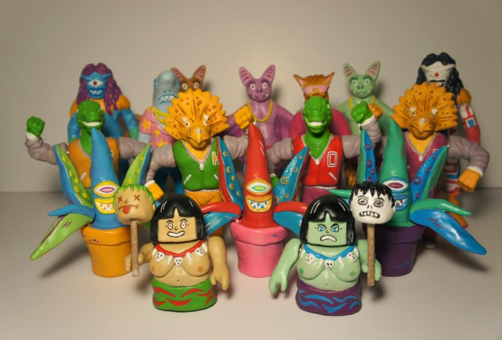 New Resin Collectible Toys by Joseph Harmon