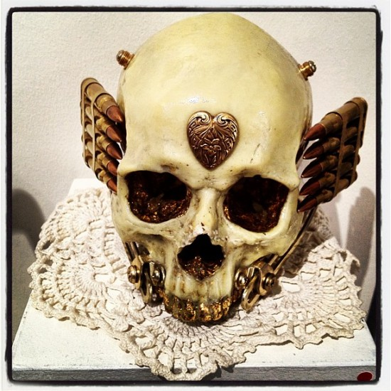 The Skull of Sarah Winchester by Ron Ulicny