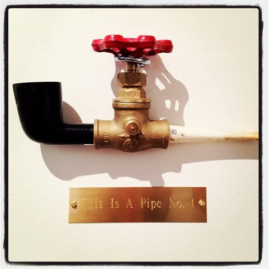 This is a Pipe No. 1 by Ron Ulicny