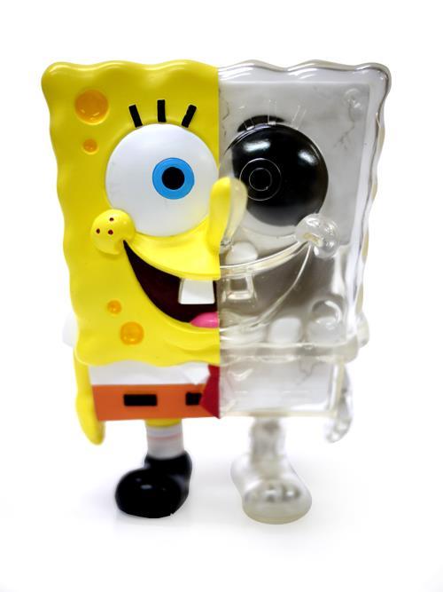 Secret Base X-Ray DX Spongebob toy