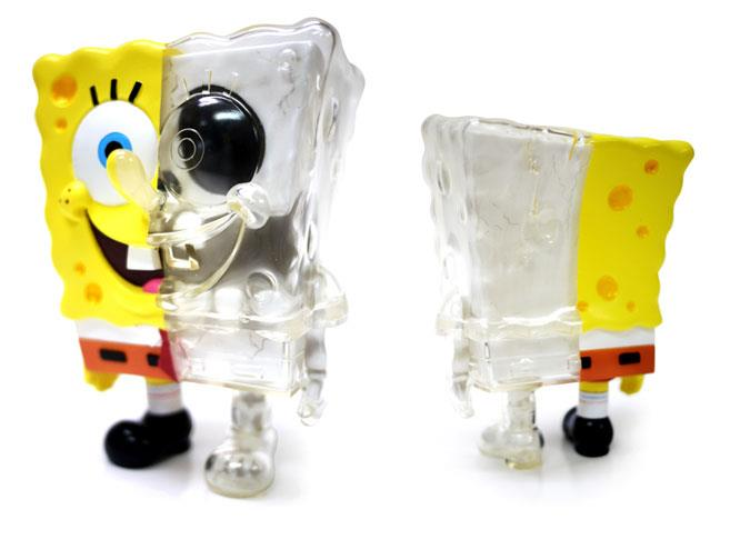 Secret Base X-Ray DX Spongebob toy