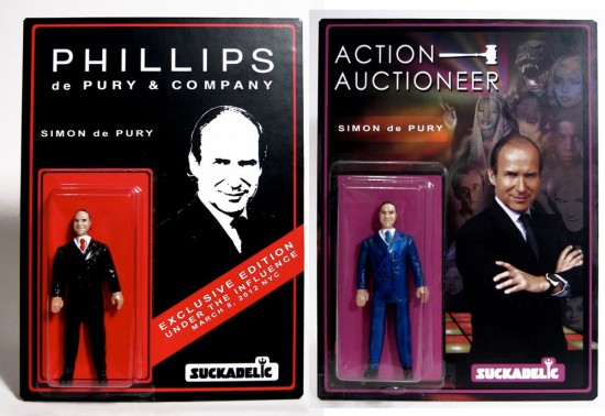 Simone de Pury action figures by The Sucklord
