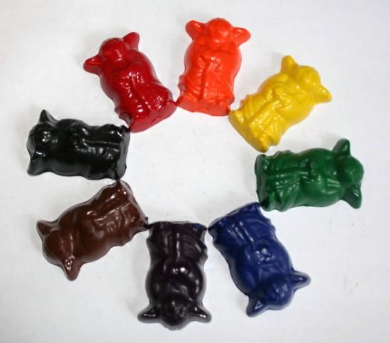 Yoda Crayons
