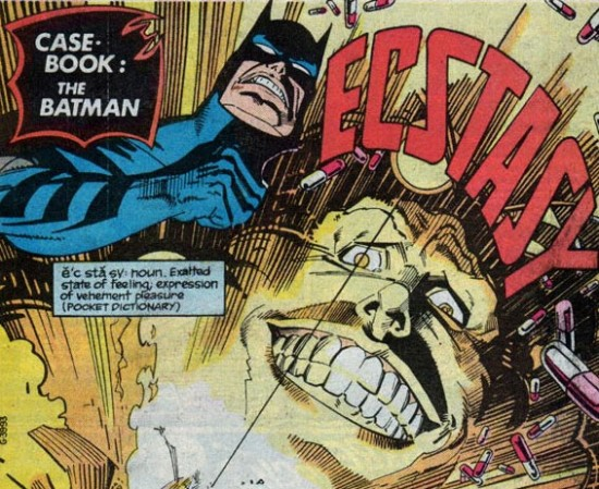 Batman vs. Ecstacy (Batman and drugs)