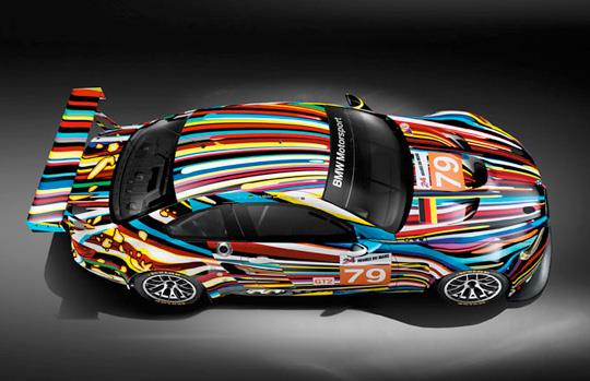 Jeff Koons Art Car