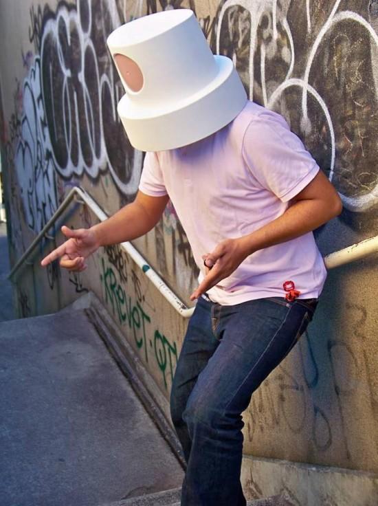 Cap Cerveau Urban Art Fatcap Hats From France by Souredj