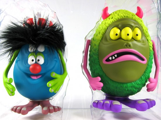 Charlie and Cosmic Garbage by Shelterbank x Kidrobot