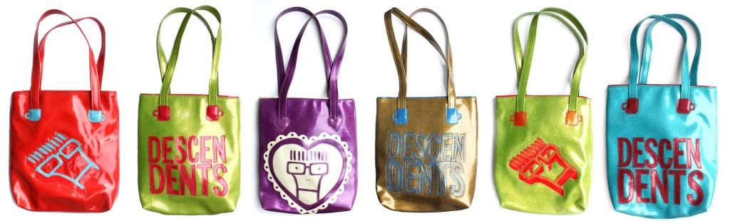 Lori's Custom Descendents Bags