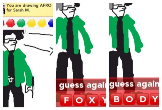 Drawsomething: Foxy Body