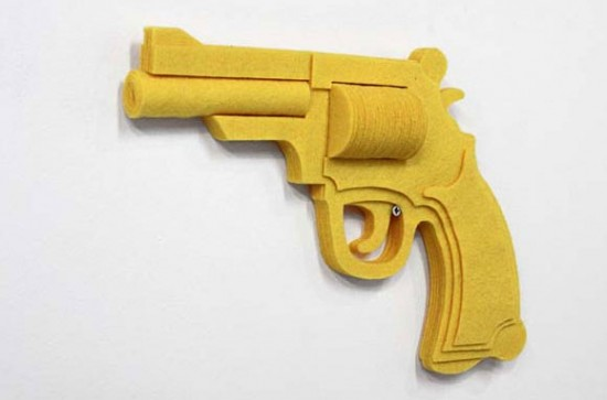"""Felt Gun"" by Sarah Applebaum"