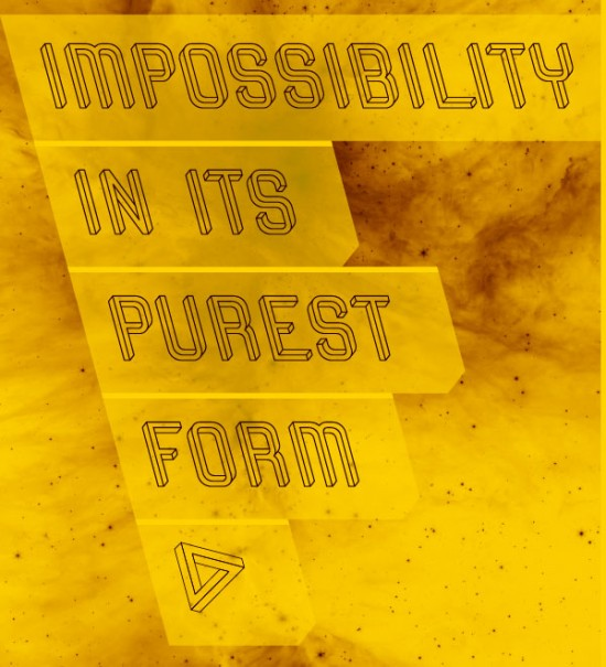 Impossible Object typography: Frustro