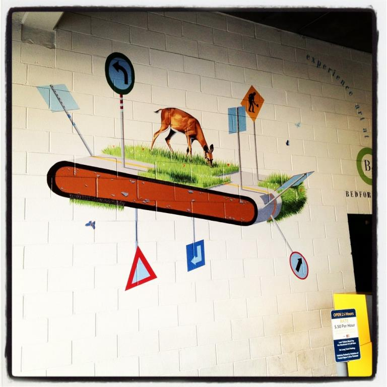 """Deer on Treadmill"" by Josh Keyes, 2006"