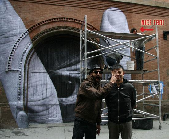 Liu Bolin x JR