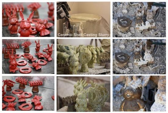 Luke Chueh's bronze Jack (process)
