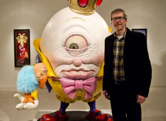 Antidote for a Worrisome World Todd Schorr sculpture