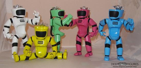 U.R.I.-NAL PVC toy by Hauke Scheer