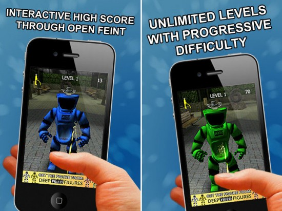 Crazy Bathroom Robot iPhone App