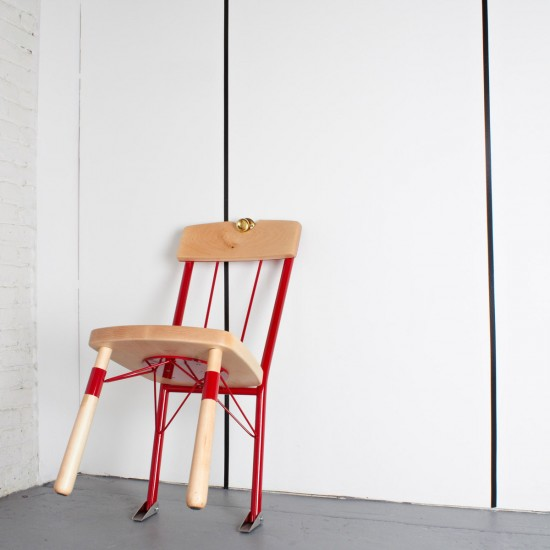 """Who's There Chair"" designer weapons by Daniel Ballou"