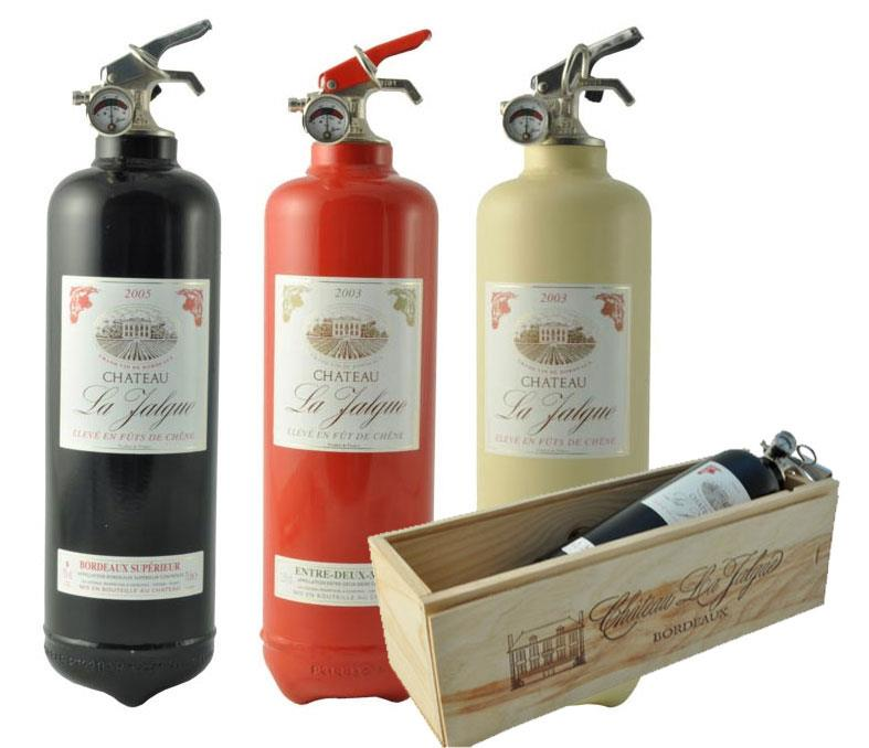 Wine Extinguishers by Fire Design