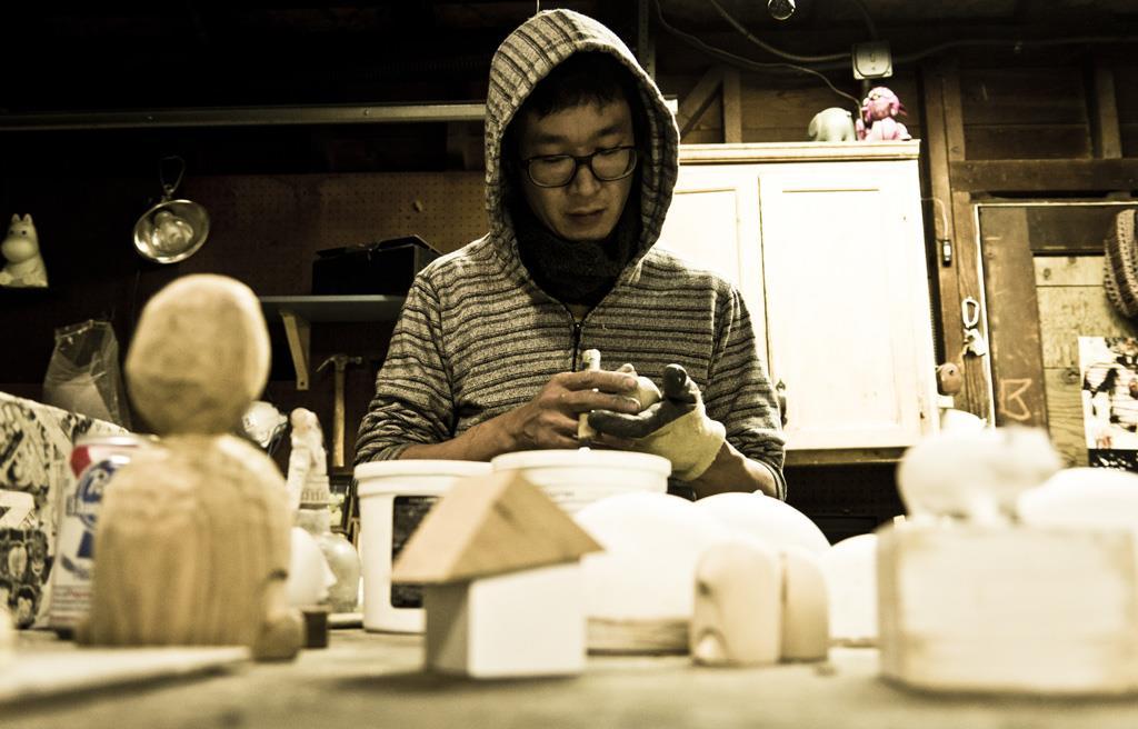 Yoskay Yamamoto sculptural works