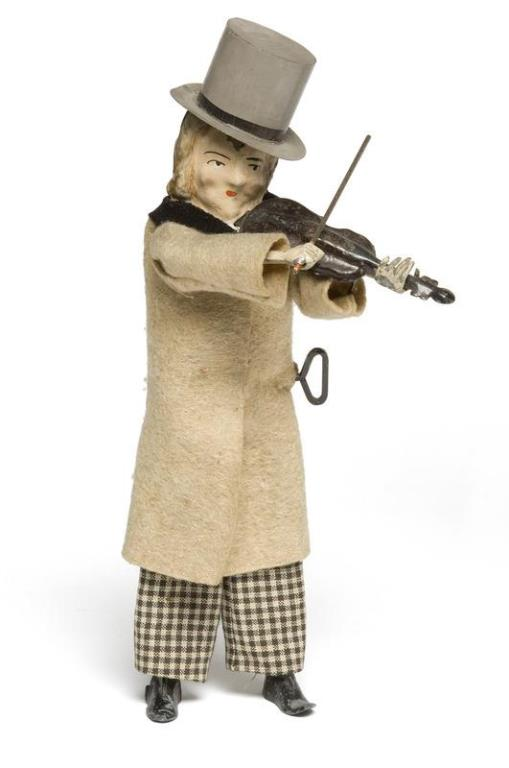 Gay Violinist 1897