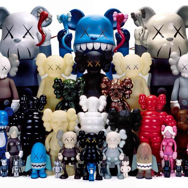 @toykio's KAWS collection circa 2007, soon to be on display in a museum in Berlin!