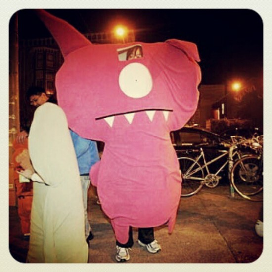 This feels a bit like Yuru-Chara. If you don't know what that is, YouTube it! Photo by @uglydoll.