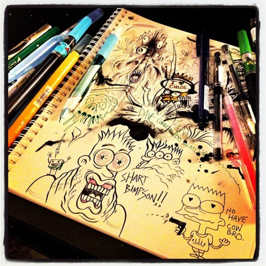 """It's new Pen Testing Party Night with @davecorreia & @ohchloe!"" - @alexpardee"
