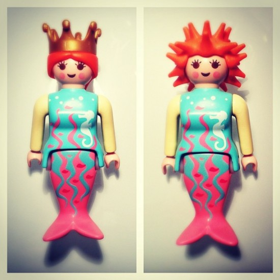 Playmobile Mermaid who reminds me of @medulao, by @leekuanleng