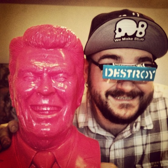 The Gipper by Frank Kozik and @bryanbrutherford